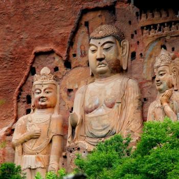 Maijishan Buddha Statue