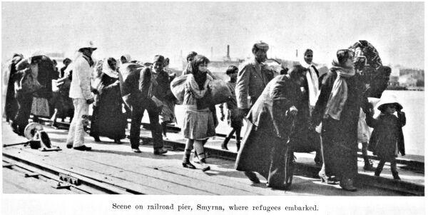 Greek refugees Smirna 1922