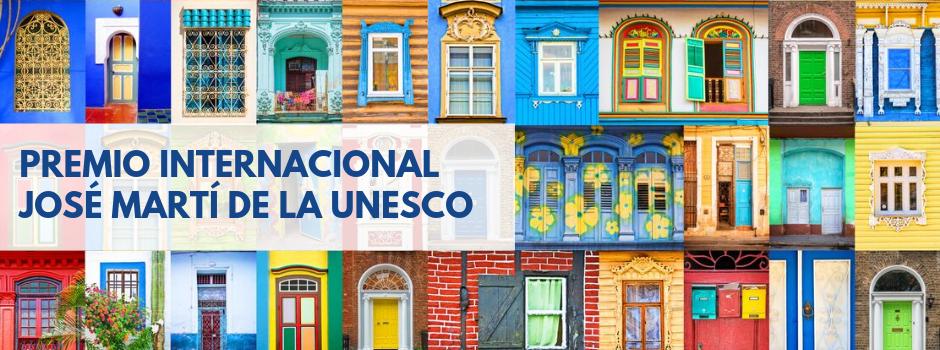 Premio Internacional José Martí de la UNESCO