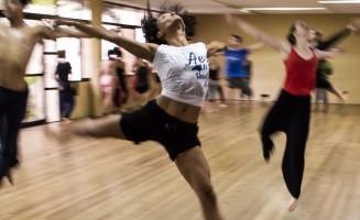 Clase colectiva de danza