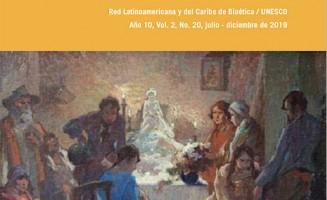 Tapa de la Revista de la Redbioética/UNESCO 20
