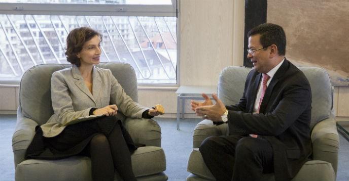 La Directora General Se Reune Con El Ministro De Relaciones