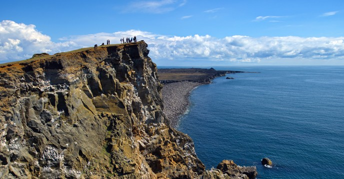 Valahnjúkur,  Reykjanes UNESCO  Global Geopark