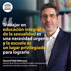 Trabajar en educación integral de la sexualidad es una necesidad urgente y la escuela es un lugar privilegiado para lograrlo.